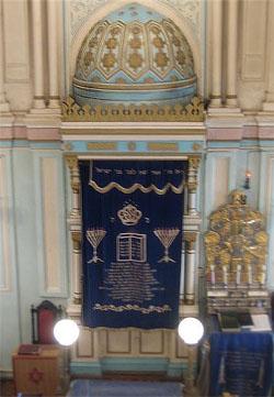 Арон а-Кодеш в Малой синагоге