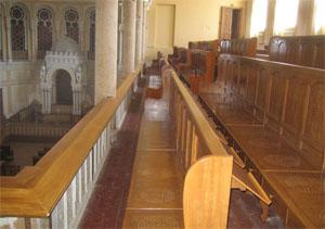 Эзрат нашим в Большой хоральной синагоге