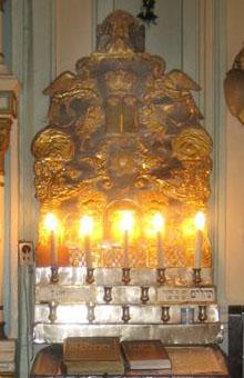 Амуд в Малой синагоге