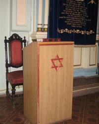 Место раввина в Малой синагоге